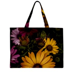 Beautiful Colourful African Daisies  Zipper Tiny Tote Bags by OZMedia