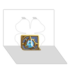 Hearthstone Update New Features Appicon 110715 Clover 3d Greeting Card (7x5)