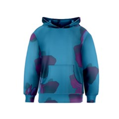 Purple And Turquoise Butterflies Kid s Pullover Hoodies by essentialimage