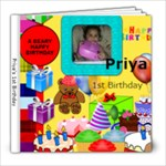 priya - 8x8 Photo Book (20 pages)