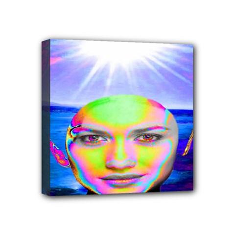 Sunshine Illumination Mini Canvas 4  X 4  by icarusismartdesigns