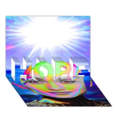 Sunshine Illumination Hope 3d Greeting Card (7x5)