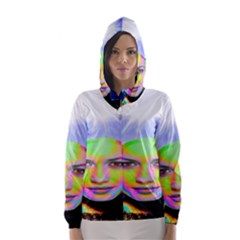Sunshine Illumination Hooded Wind Breaker (Women) by icarusismartdesigns
