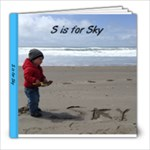 S is for Sky - 8x8 Photo Book (20 pages)
