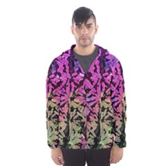 Artistic Cubes 5 Hooded Wind Breaker (men) by MoreColorsinLife