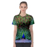 Peacock Top - Women s Sport Mesh Tee