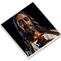 Jesus Christ Sculpture Photo Small Memo Pads