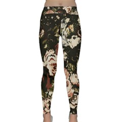 Dark Roses Yoga Leggings by LovelyDesigns4U