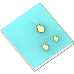 Bright Ideas Small Memo Pads by essentialimage