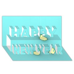 Bright Ideas Happy New Year 3d Greeting Card (8x4)  by essentialimage