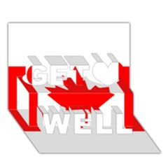 Style 1 Get Well 3d Greeting Card (7x5)  by TheGreatNorth
