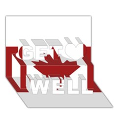 Style 2 Get Well 3d Greeting Card (7x5)