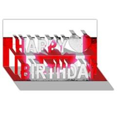 Style 5 Happy Birthday 3d Greeting Card (8x4)