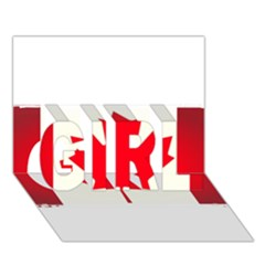 Style 7 Girl 3d Greeting Card (7x5)  by TheGreatNorth
