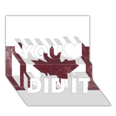 Style 8 You Did It 3d Greeting Card (7x5)