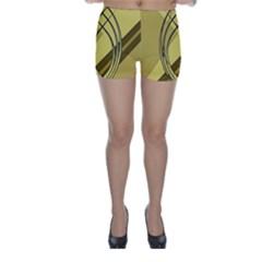 Geo Fun 12 Skinny Shorts by MoreColorsinLife