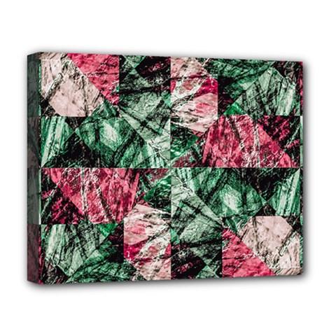 Luxury Grunge Digital Pattern Deluxe Canvas 20  x 16   by dflcprints
