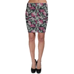 Grunge Check Printed Bodycon Skirts by dflcprintsclothing