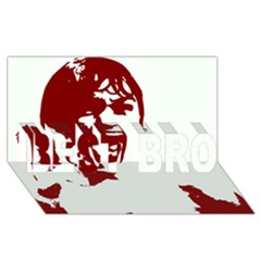 Psycho Best Bro 3d Greeting Card (8x4)  by icarusismartdesigns