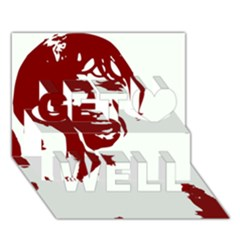 Psycho Get Well 3d Greeting Card (7x5)  by icarusismartdesigns