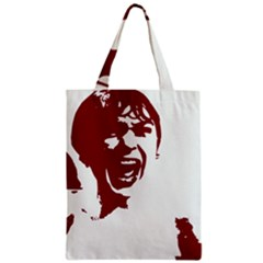 Psycho Classic Tote Bags by icarusismartdesigns