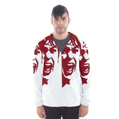 Psycho Hooded Wind Breaker (men) by icarusismartdesigns