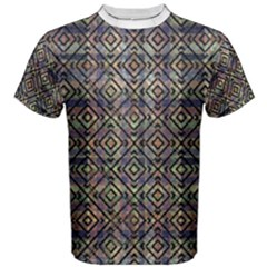 Ethnic Check Printed Men s Cotton Tees by dflcprintsclothing