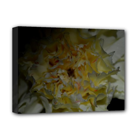 Yellow Flower Deluxe Canvas 16  X 12   by timelessartoncanvas