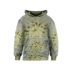 White Flowers Kid s Pullover Hoodies by timelessartoncanvas