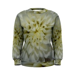 White Flowers Women s Sweatshirts