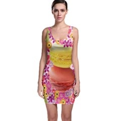 Macaroons And Floral Delights Bodycon Dresses by LovelyDesigns4U
