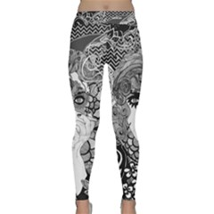 Smoking Yoga Leggings  by DryInk
