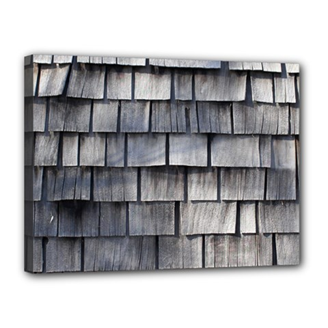 Weathered Shingle Canvas 16  X 12  by trendistuff