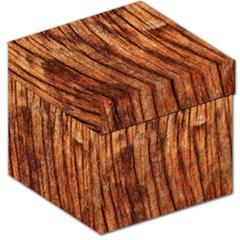 Old Brown Weathered Wood Storage Stool 12   by trendistuff