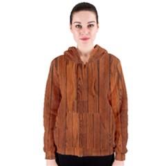Oak Planks Women s Zipper Hoodies by trendistuff