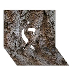 Douglas Fir Bark Ribbon 3d Greeting Card (7x5)