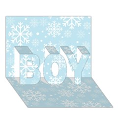 Frosty Boy 3d Greeting Card (7x5)