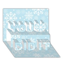 Frosty You Did It 3d Greeting Card (7x5) by Kathrinlegg