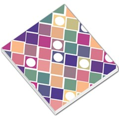 Dots And Squares Small Memo Pads