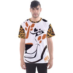 Dirty Cheetah Large Face Men s Sport Mesh Tee by DirtyCheetahs