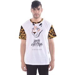 Dirty Cheetah on White Men s Sport Mesh Tee by DirtyCheetahs