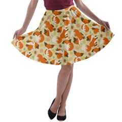 A Line Skater Skirt by Ellador