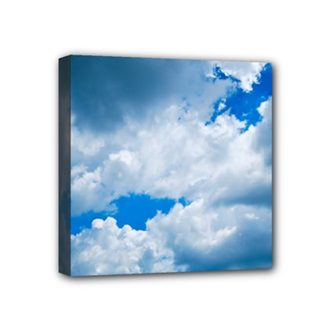Cumulus Clouds Mini Canvas 4  X 4  by trendistuff