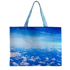 Clouds Zipper Tiny Tote Bags by trendistuff
