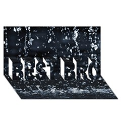 Autumn Rain Best Bro 3d Greeting Card (8x4)