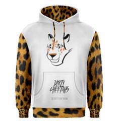 Dirty Cheetah White Men s Pullover Hoodie by DirtyCheetahs