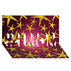 Star Burst #1 Mom 3d Greeting Cards (8x4)