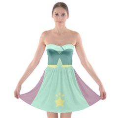 Strapless Bra Top Dress by ULTRACRYSTAL