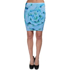 Blue Flower Bodycon Skirts by BubbSnugg