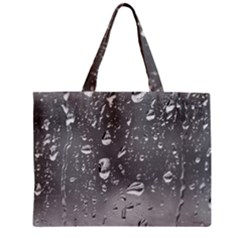 WATER DROPS 4 Zipper Tiny Tote Bags by trendistuff